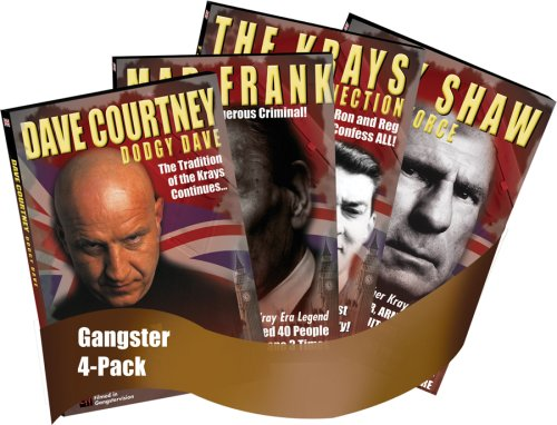 Gangsterfest: The UK's Most Notorious Gangsters (4pk DVD)