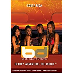 Bikini Destinations Costa Rica (Includes WMV HD and Standard Definition discs)