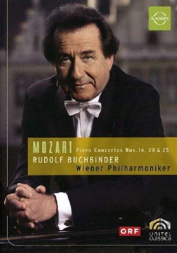 Mozart: Piano Concertos No. 14, 20 & 25 [DVD Video]