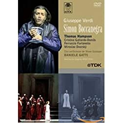 Verdi - Simon Boccanegra / Gatti, Hampson, Gallardo-Domas, Furlanetto, Dvorsky, Wiener Staatsoper