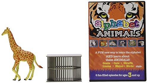 Alphabet Animals DVD Adventure Pack
