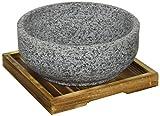 韓国式 石焼き ビビンバ 鍋 18cm H-2709