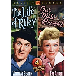 50s TV Comedy Double Feature: Life of Riley (1949-53) / Our Miss Brooks (1953)