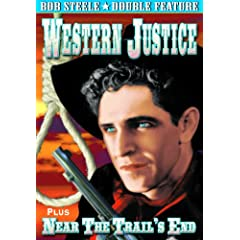 Western Justice (1935) / Near The Trail's End (1931)