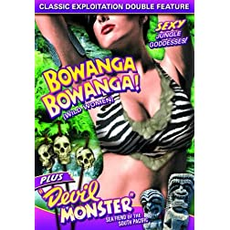 Wild Women Double Feature: Bowanga, Bowanga (1941) / Devil Monster (1946)