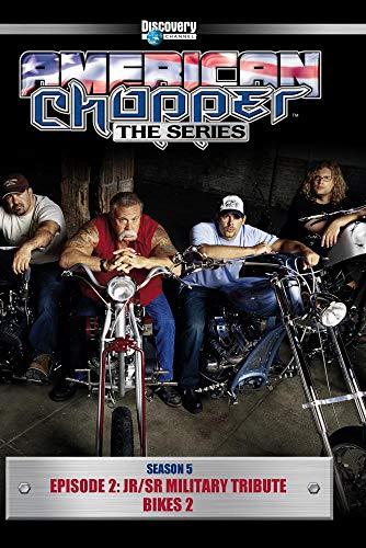 American Chopper Season 5 - Episode 2: Jr/Sr Military Tribute Bikes 2