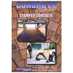 Concrete Secrets Stamped Concrete (Stamped Concrete DVD)