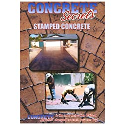 Concrete Secrets Stamped Concrete (Stamped Concrete DVD)