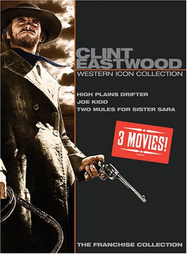 Clint Eastwood Western Icon Collection (High Plains Drifter/Joe Kidd/Two Mules For Sister Sara)