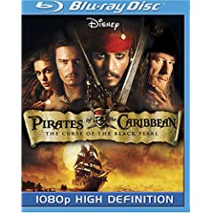 Pirates of the Caribbean - Curse of the Black Pearl [Blu-ray]