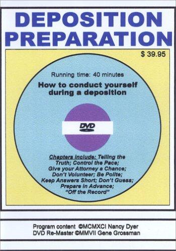 Deposition Preparation