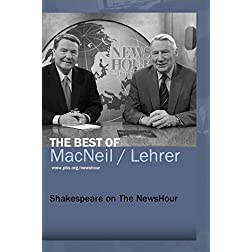 Shakespeare on The NewsHour