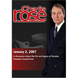 Charlie Rose with Thomas DeFrank, Michael Beschloss & Douglas Brinkley (January 2, 2007)