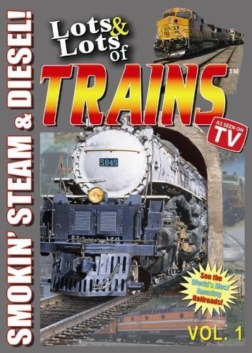 Lots and Lots of Trains Volume 1 DVD