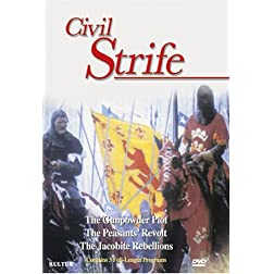 Civil Strife Boxed Set / The Peasants' Revolt, The Gunpowder Plot, The Jacobite Rebellions