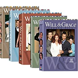 Will and Grace  Seasons 1-5 Bundle