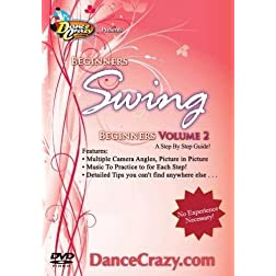 Learn To Dance Swing, Beginners Volume 2: A Beginners Swing Dancing Guide to East Coast and City Swing