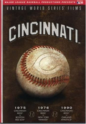 MLB Vintage World Series Films - Cincinnati Reds 1975, 1976 & 1990