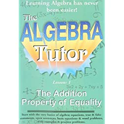 Algebra Tutor-Addition Vol 1