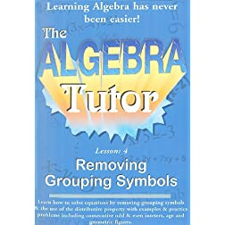 Algebra Tutor-Grouping Vol 4
