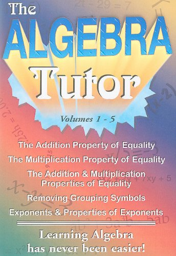 Algebra Tutor Series Vol 1-5