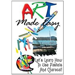 Art Made Easy: Lets Learn How To Use Pastels And Charcoal!