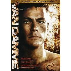 Van Damme Collector's Set (Kickboxer/Replicant/Universal Solider)