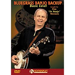 Bluegrass Banjo Backup-Basic Level