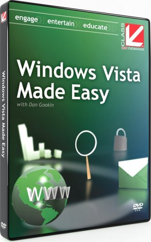 Windows Vista Made Easy:  Class on Demand Windows Vista training tutorial
