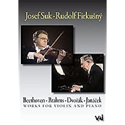 Josef Suk/Rudolf Firkusny: Works for Violin and Piano