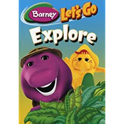 Barney - Let's Go Explore Pack