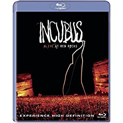 Incubus: Alive At Red Rocks [Blu-ray]