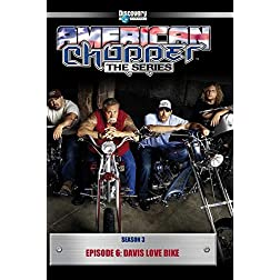 American Chopper Season 3 - Episode 6: Davis Love Bike