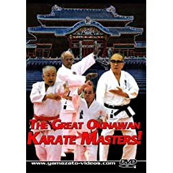 The Great Okinawan Karate Masters!