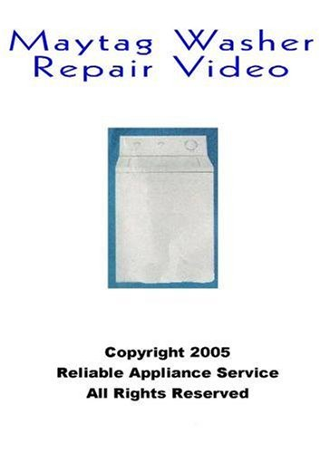 Maytag Washer Repair, Maytag Washer Repair  DVD Video