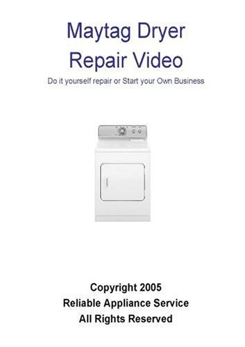 Maytag Dryer Repair, Maytag Dryer Repair video dvd