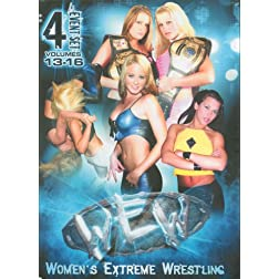 Women's Extreme Wrestling, Vol. 13-16