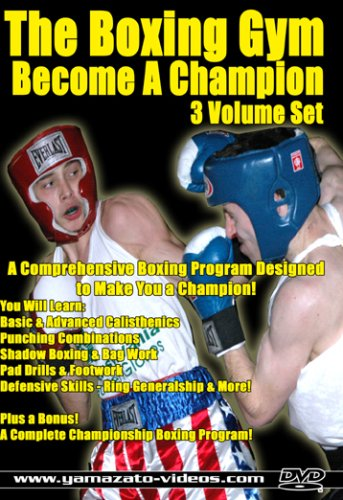 The Boxing Gym 3 Volume Set