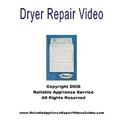Dryer Repair Video for Whirlpool, Kenmore, Sears, Roper, Kitchen Aid Brands