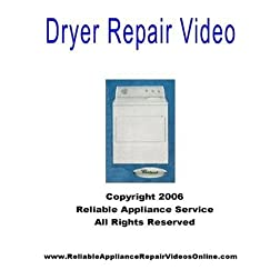 Dryer Repair Video for Whirlpool, Kenmore, Sears, Roper, Kitchen Aid Brands
