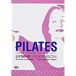 Pilates With Lynne Robinson - 2 DVD SET