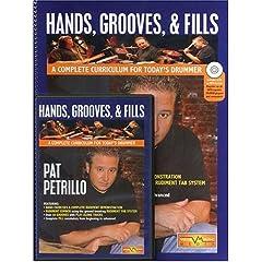 Pat Petrillo Hands, Grooves, & Fills - DVD/Book/CD