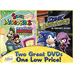 Mario's Move Madness / Dr. Robotnik's Revenge