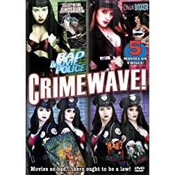 Bad Movie Police: Crimewave! (5-Pack)