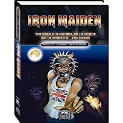 Iron Maiden: Rock Case Studies (2pc) (W/Book) (Sub Ac3 Dol)