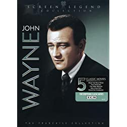John Wayne: Screen Legend Collection (Reap the Wild Wind / Rooster Cogburn / The Hellfighters / The War Wagon / The Spoilers)
