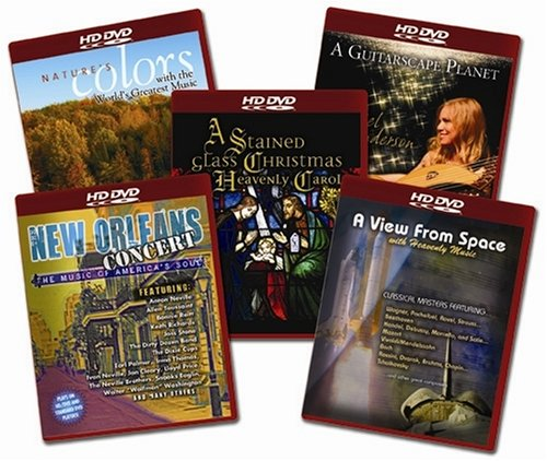HD DVD Starter Set (A Guitarscape Planet / Nature's Colors / New Orleans Concert / A Stained Glass Christmas / A View From Space) [HD DVD]