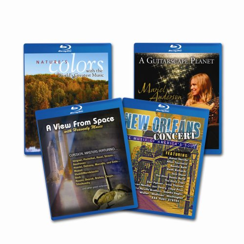 Blu-ray Starter Set (A Guitarscape Planet / Nature's Colors / New Orleans Concert / A View From Space) [Blu-ray]
