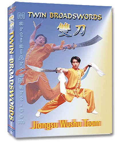 Wushu Twin Broadsword