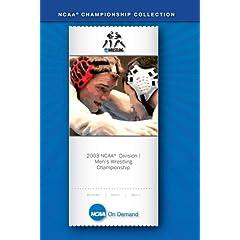 2003 NCAA(R) Division I Men's Wrestling Championship